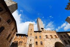 San Gimignano - Сиена Тоскана Италия Стоковое Фото