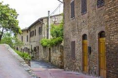San Gimignano - Тоскана, Италия стоковое фото