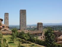 San Gimignano Royalty-vrije Stock Foto's