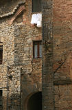San gimignano. Detail of the old building in san gimignano, tuscany Stock Images