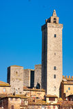 San gimignano. Stock Photos
