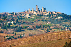 San gimignano. Stock Images