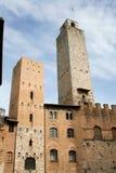 San Gimignano stock photography