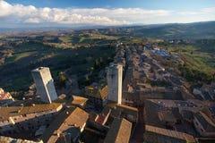 San Gimignano Stock Photo