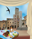 San Gimignano 2 Stock Image