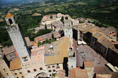 San. Gimignano Royalty Free Stock Photos