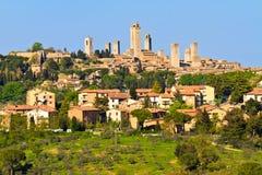 San Gimignano Lizenzfreie Stockfotos