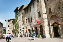 San Gimignano Royalty Free Stock Photo
