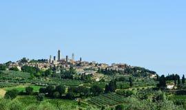 San Gimignano Стоковая Фотография RF