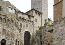 San Gimignano Fotografie Stock Libere da Diritti