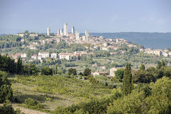SAN Gimignano στοκ εικόνα