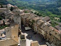 San Gimignano Стоковые Изображения RF