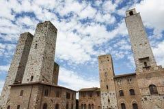 San Gimignano стоковое изображение