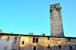 San Gimignano Photo stock