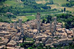San Gimignano Stock Fotografie