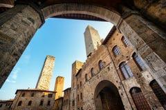 San Gimignano lizenzfreies stockfoto