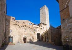 San Gimignano стоковое изображение rf