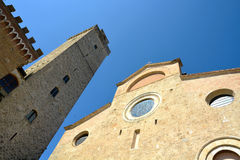 San Gimignano 免版税库存图片