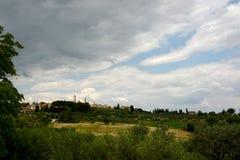 San Gimignano 图库摄影