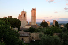 San Gimignano Fotografia de Stock Royalty Free