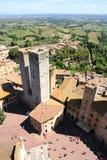 San Gimignano Zdjęcie Stock