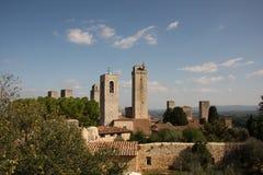 San Gimignano Fotografía de archivo