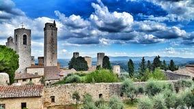 San Gimignano Fotografia Stock Libera da Diritti