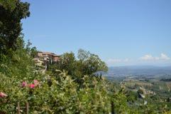 San Gimignano Royaltyfri Bild
