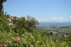 San Gimignano Fotografering för Bildbyråer