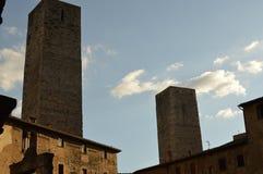 San Gimignano Royaltyfria Foton