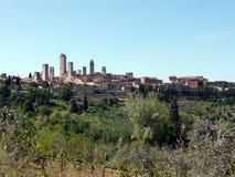 San Gimignano foto de archivo