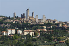 San Gimignano Fotos de archivo