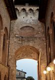 San Gimignano Stock Foto's