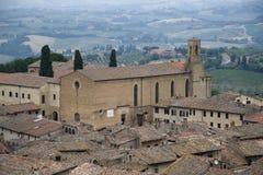 San Gimignano Fotos de Stock