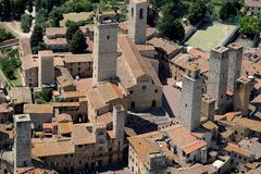 San Gimignano Royalty Free Stock Images