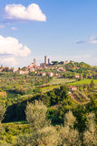 San Gimignano. Beautiful medieval city in Italy Royalty Free Stock Images