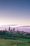 San Gimignano. Beautiful medieval city in Italy Royalty Free Stock Photography