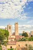 San Gimignano. Beautiful medieval city in Italy Royalty Free Stock Image