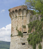 San Gimignano city wall Stock Photo