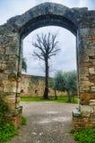 San Gimignano, dopo la pioggia immagine stock libera da diritti