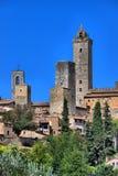 San Gimignano em Toscânia Imagem de Stock
