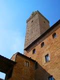 San Gimignano i Tuscany Italien Arkivbilder
