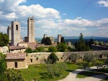 San Gimignano, Italië Royalty-vrije Stock Afbeeldingen