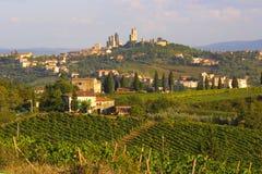 San Gimignano, Italië Royalty-vrije Stock Foto's