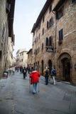 San Gimignano, Italië Royalty-vrije Stock Afbeelding
