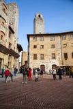 San Gimignano, Italië Stock Foto