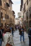 San Gimignano, Italië Stock Fotografie