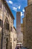San Gimignano, Italia immagini stock