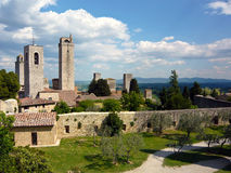 San Gimignano, Italia Imágenes de archivo libres de regalías