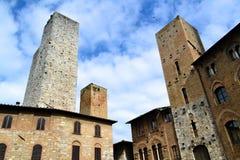 San Gimignano, Italia Fotos de archivo